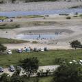 相模川、相模原市緑区大島付近はまた憩いの場になってました