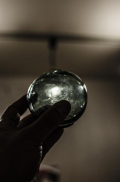 味あるな、こういうガラス玉