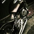 Photos: metallicな乗り物