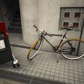Photos: 駐輪なのかディスプレイなのか