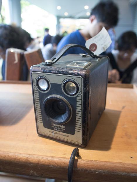 古い8mカメラかな@第三回東京蚤の市;2013春-26