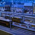 Photos: 黄昏の駅@原鉄道模型博物館