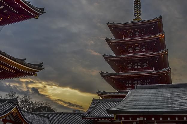 Photos: 浅草寺幻影