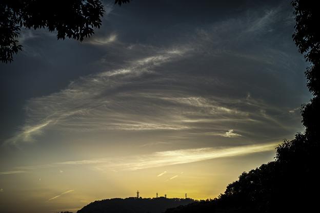 空は予感に満ちている