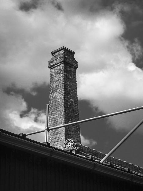 Photos: レンガの煙突