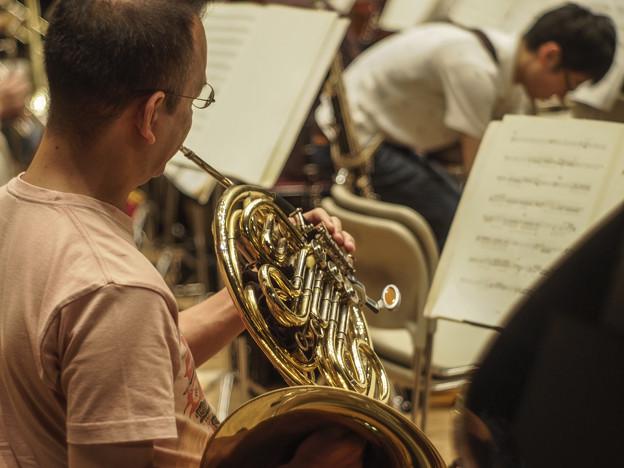 Photos: Horn奏者を後ろから