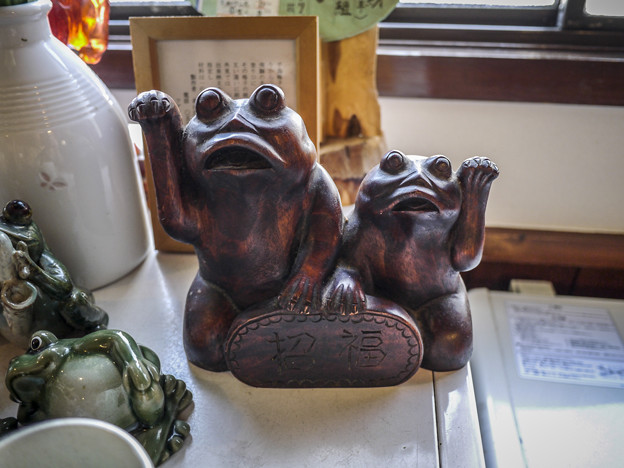 招き蛙1@飛騨高山
