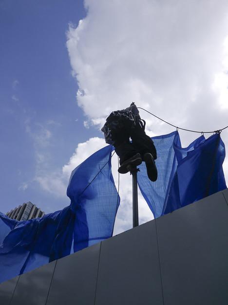 Photos: 工事現場のヨットマン