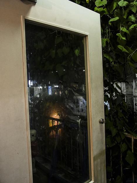 台風の接近と共に展覧会も終わりました