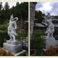 三番札所、常泉寺の金剛力士@秩父霊場巡礼の旅2013