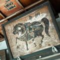 奉納された馬の絵図@飛騨高山桜山神社