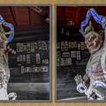 金昌寺の山門を守る仁王像@秩父霊場巡礼の旅2013