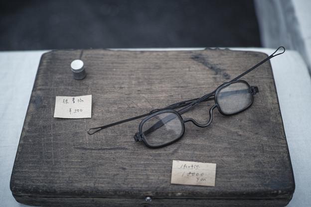 レトロな眼鏡@第四回東京蚤の市;2013秋
