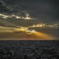 那覇の夕陽2