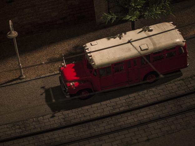 Photos: ボンネットバス@原鉄道模型博物館