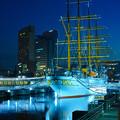 Photos: 黄昏の帆船日本丸