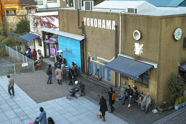 昼間のBLUE BLUE YOKOHAMA