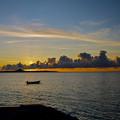 沖縄、伊江島の夕暮れ2