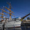 昼の帆船日本丸は僕としては珍しいかも