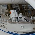 帆船日本丸(模型)の甲板