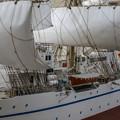 帆船日本丸(模型)の左舷