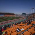快晴の国立競技場、僕にとって最後の訪問
