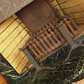 イギリス館の暖炉跡