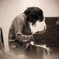 鍵盤上で暴れる:-)
