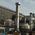 近所の工場の煙突