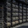 Photos: 鋼管の集合体