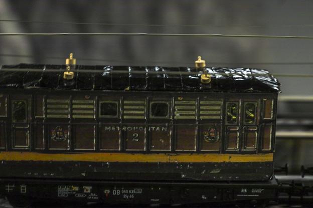 疾走する鉄道模型