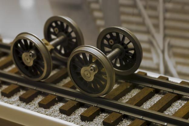 実際の鉄道では観る事の出来ない(と思う)情景(爆)