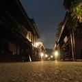 誰も居ない観光地飛騨高山の深夜
