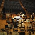 Photos: 今日は、指揮者と正対して弾いた