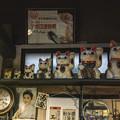 マトリョーシカ的左手挙げ招き猫(爆)@高山昭和館