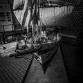帆船日本丸の舳先@模型版