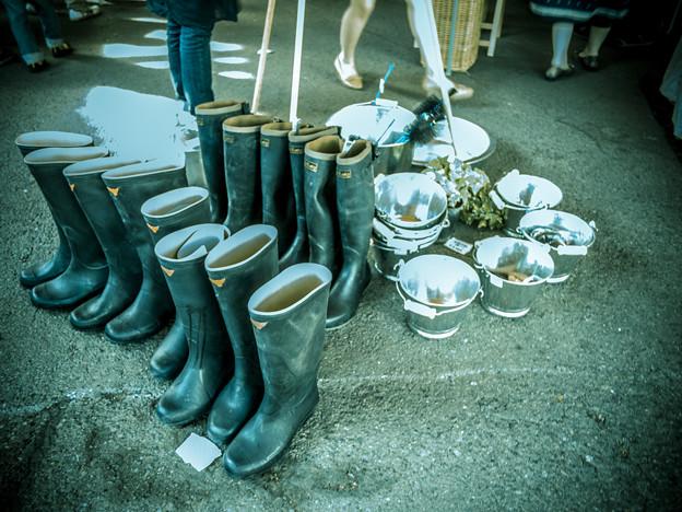 長靴再び@第三回東京蚤の市;2013春