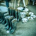 Photos: 長靴再び@第三回東京蚤の市;2013春