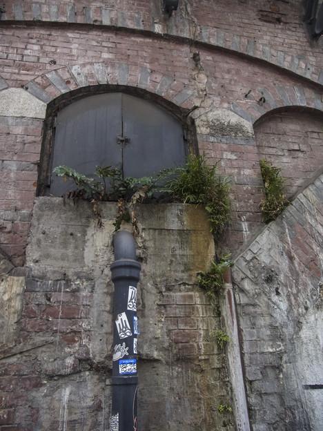 この扉、何十年前から開けられてないのだろう