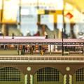 Photos: 旧万世橋駅ホームのジオラマ2(昼)