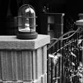 Photos: 雨が降っても大丈夫なランプ