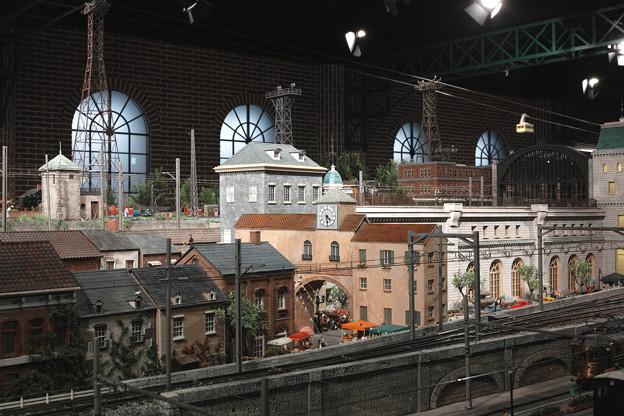 駅のある街@原鉄道模型博物館