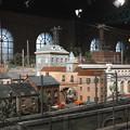 写真: 駅のある街@原鉄道模型博物館