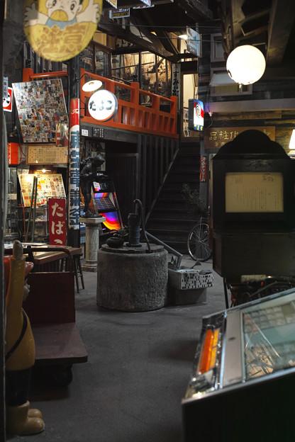 井戸のある昭和の風景