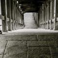 東大寺二月堂(だったと思う)の階段