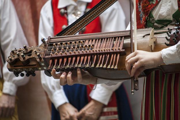 ピアノとヴァイオリンを合わせたようなシステムのニッケルハルパ