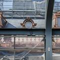 公開前の東京駅、まだ銅色をしていた頃