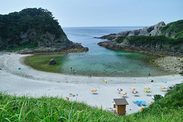 Photos: 東京都だってこんな奇麗な海があるんだ、、式根島、泊海岸