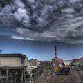 写真: 印象的な雲@東京,JR八王子駅