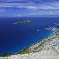 新島、向山展望台からの眺め